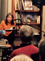Speaking on *Once Upon a Yugoslavia* at The Bookstore, Lenox, Massachusetts, December 2015.